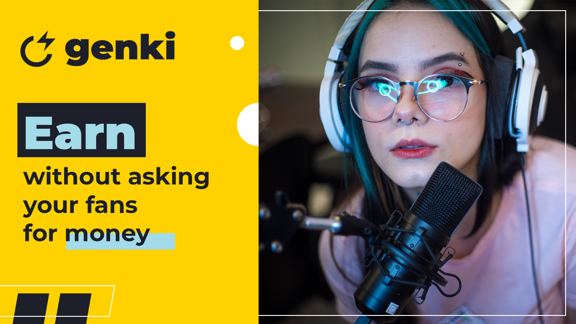 Meet Genki - a new way to monetise live stream channels