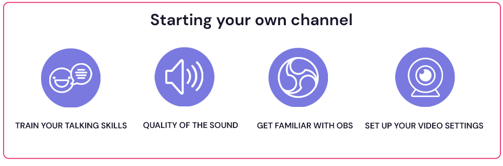 starting your own streaming channel