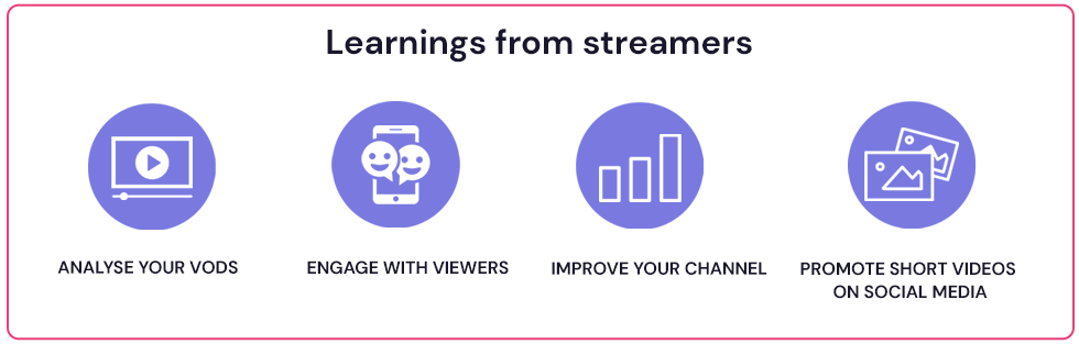 Learnings from streamers