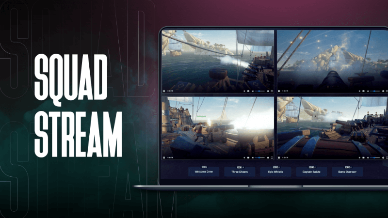 How to squad stream on Twitch - a guide to broadcast your team's triumph