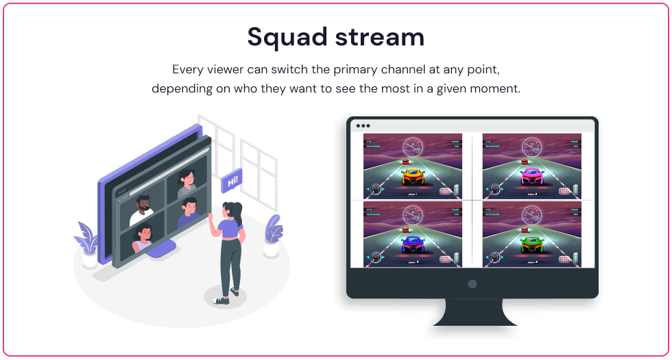 what is squad stream